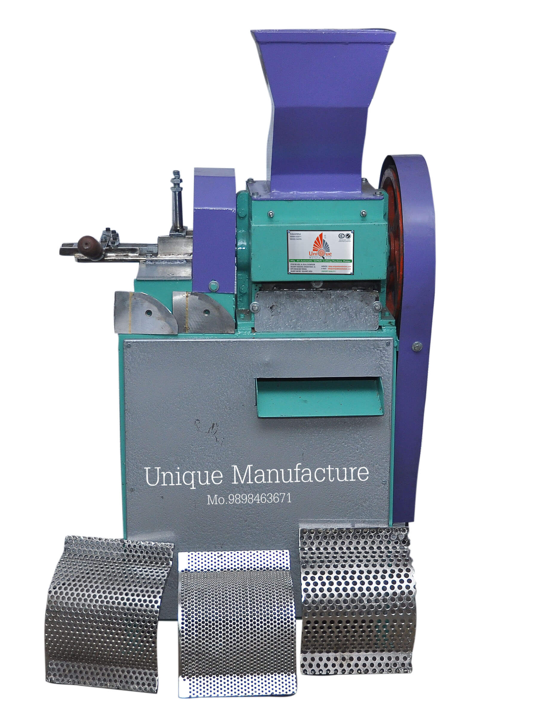 Tukada & Chips Multiple Supari Cutting Machine