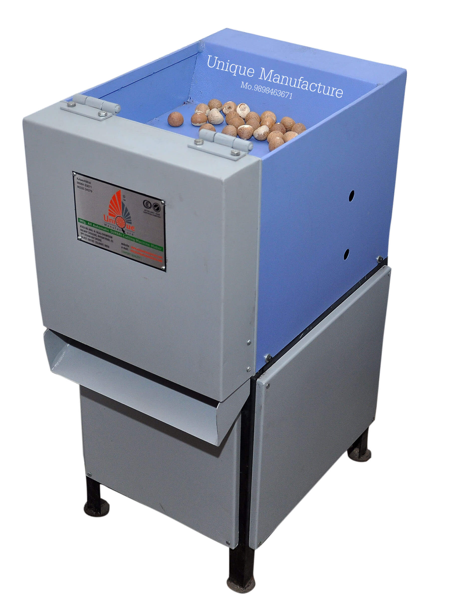 Automatic Hydraulic Type Betel Nut Chips Cutting Machine