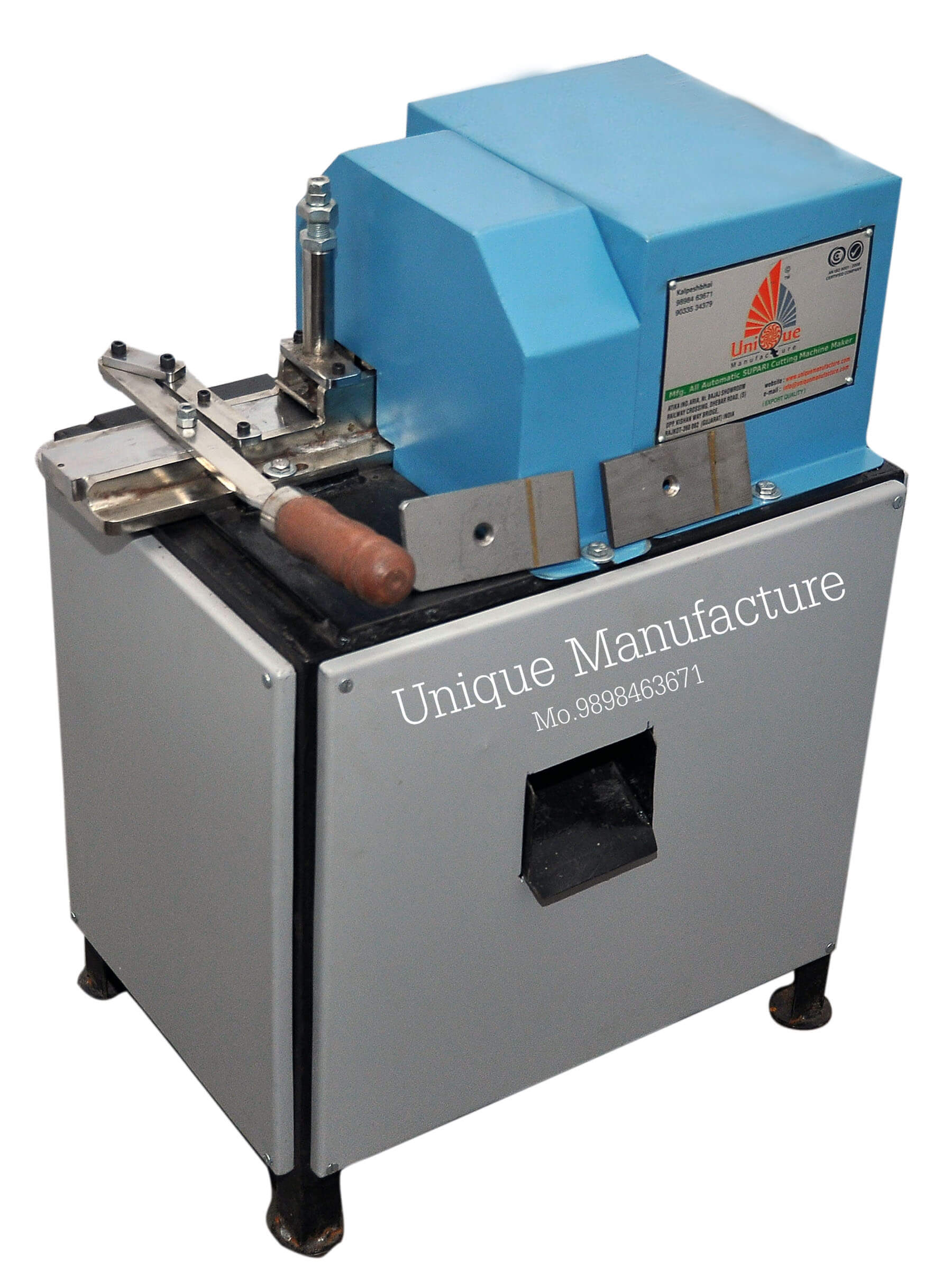 Chips Cutting Single Supari Cutting Machine